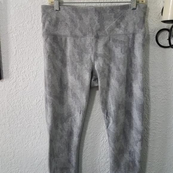 Athleta Pants - Athleta light gray high waist cropped pants